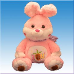 عروسک پولیشی خرگوش I love you