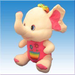 عروسک فیل رنگی