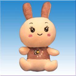 عروسک خرگوشی مدل سینه زنبوری
