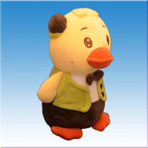 عروسک طرح جوجه اردک پاپیونی
