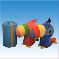 عروسک طوطی طرح استوایی