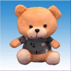 عروسک خرس جلیقه پوش