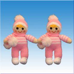 عروسک نوزاد بافتنی