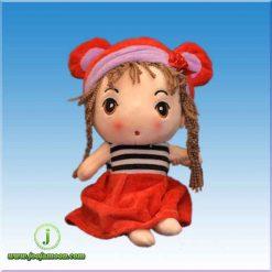 عروسک دخترک ممول لباس راه راه