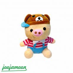عروسک خوک کلاه دار