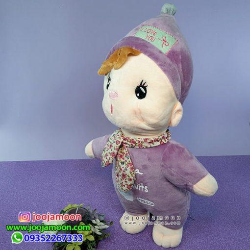 نوزاد با طرح چایی و بیسکوئیت 50 سانت