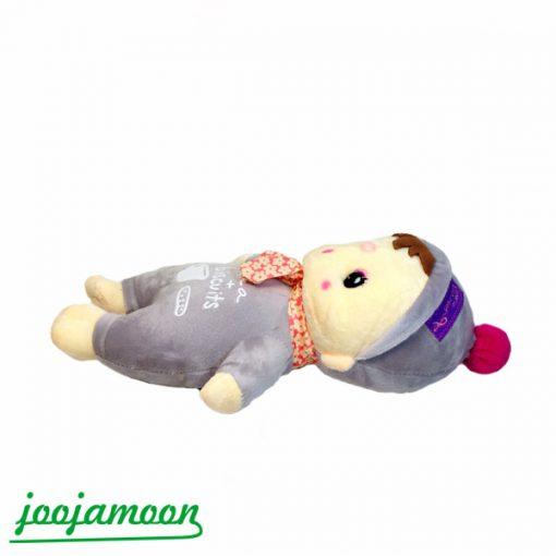 عروسک نوزاد با طرح شیر و بیسکوئیت