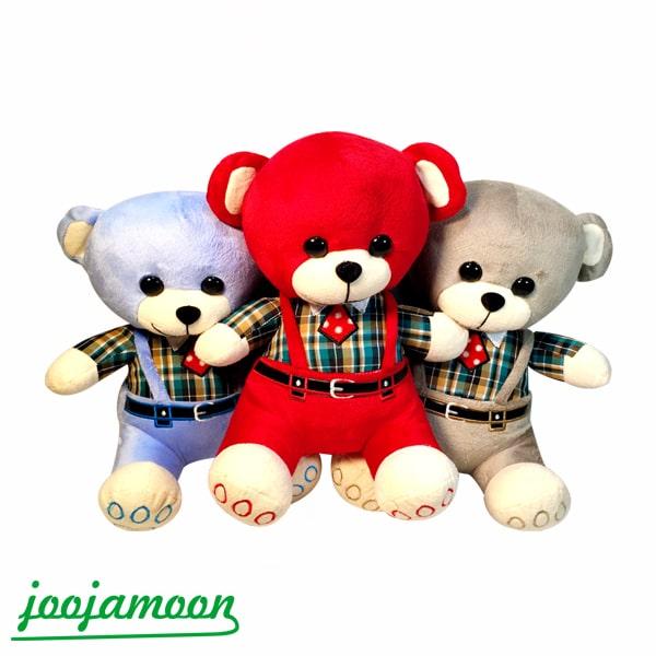 عروسک خرس خوشتیپ