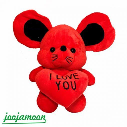عروسک موش I LOV YOU