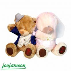 عروسک خرس عروس و داماد