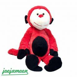 عروسک میمون قرمز