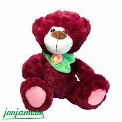 عروسک خرس شال دار
