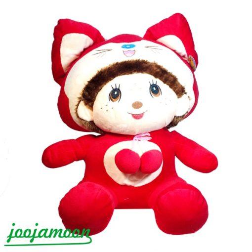 عروسک دختر کلاه سنجابی