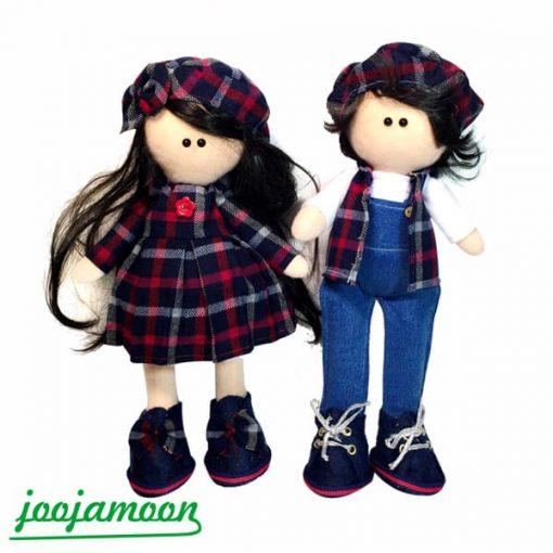عروسک دختروپسر روسی