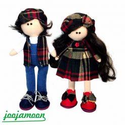 عروسک دختر و پسر روسی