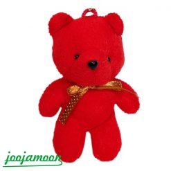 عروسک خرس قرمز آویز