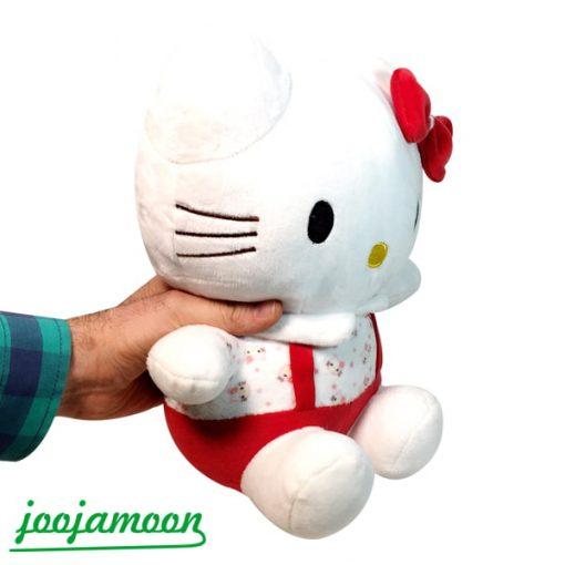 عروسک گربه کیتی لباس رنگی