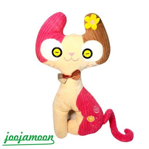 عروسک گربه چشم دکمه ای