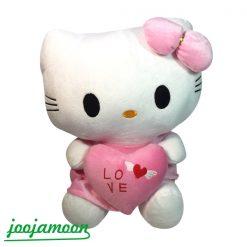 عروسک گربه کیتی با قلب
