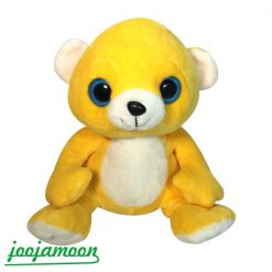 عروسک خرس چشم تیله ای