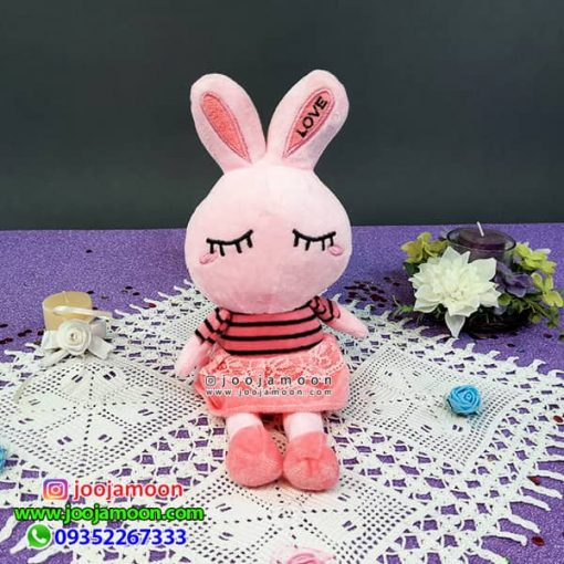 عروسک خرگوش چشم بسته