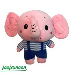 عروسک فیل صورتی