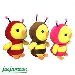 عروسک جوجه با لباس زنبوری