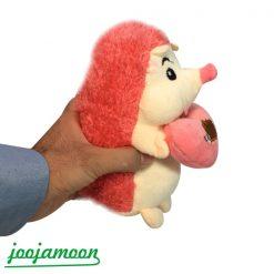 عروسک جوجه تیغی قلب دست