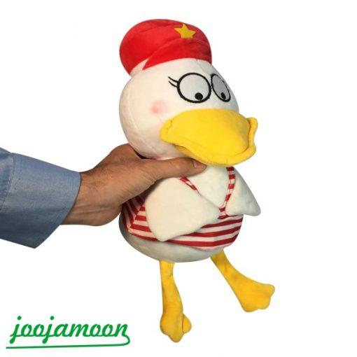 عروسک اردک کلاه دار