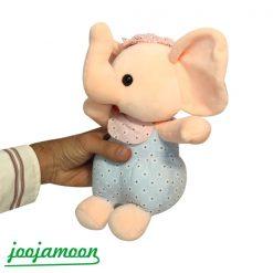 عروسک فیل انگشت به دهان