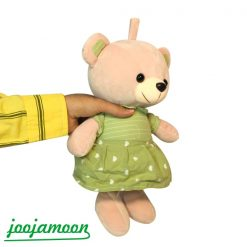 عروسک خرس دامن قلبی