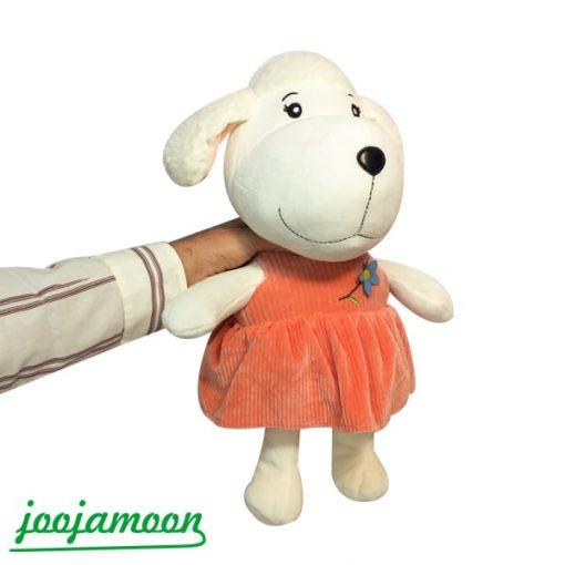 عروسک سگ دختر و پسر