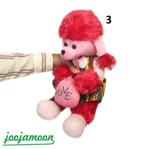 عروسک سگ اشرافی لباس دار