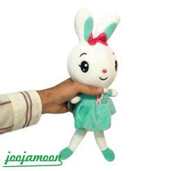 عروسک خرگوش پاپیون به سر