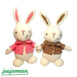 عروسک خرگوش لباس مهندسی