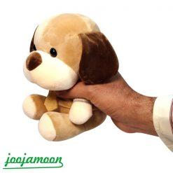 عروسک سگ کراوات دار