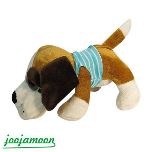 عروسک سگ لباس دار