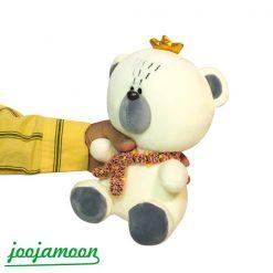 عروسک بچه خرس پادشاه