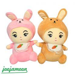 عروسک نوزاد لباس خرگوشی