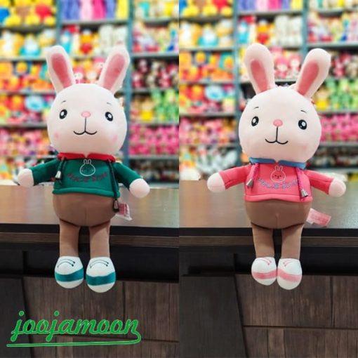 عروسک خرگوش سویشرت پوش