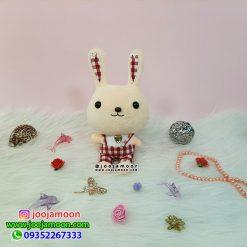 عروسک خرگوش نگین قلبی