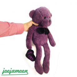 عروسک خرس بنفش