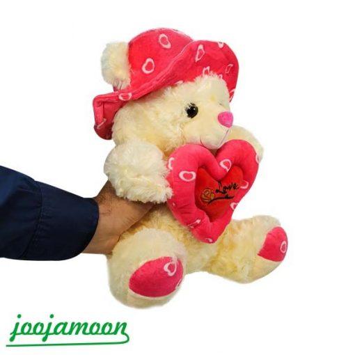 عروسک خرس سفید TeAmo