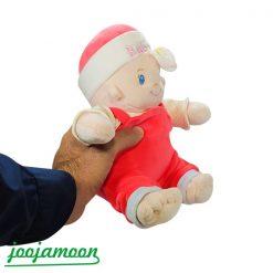 عروسک نوزاد کلاه دار baby