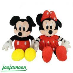 عروسک میکی موس و مینی موس قرمز