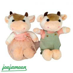 عروسک گاو دختر و پسر دهاتی