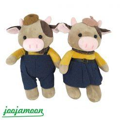 عروسک گاو دختر و پسر scarf
