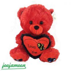 عروسک خرس پولیشی قلب به دست Love You