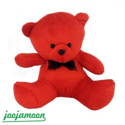 عروسک خرس پاپیون مشکی مینی