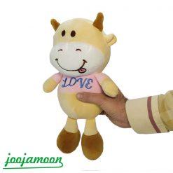 عروسک گاو طرح Love